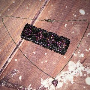 Jewelry - 💓 Pink Heart Pendant Necklace & 🆓 Bracelet